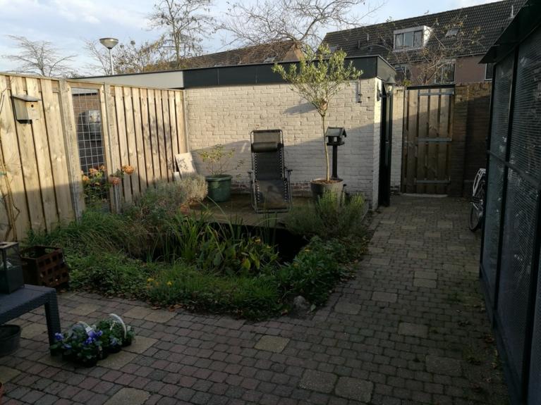 Eigen Tuin Ontwerpen : Moderne zitkuil in eigen tuin van tuinontwerper joke gerritsma