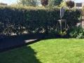 Tuinontwerp met ronde lijnen en vlonder Woerden Utrecht
