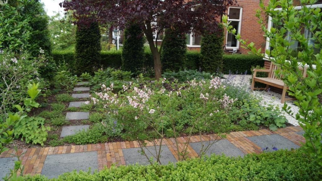 groene voortuin tuinontwerp woerden vicas tuinontwerpen