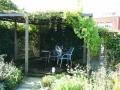 tuinontwerp exotische tuin schaduwterras