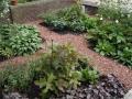 tuinontwerp symmetrische vakken