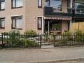 Tuinontwerp Montfoort Utrecht begane grond appartement straatkant