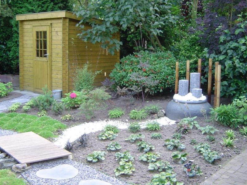 Tuin in japanse sfeer vicas tuinontwerpen