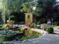 Tuinontwerp Japans met vijver
