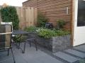 Tuinontwerp Woerden kleine tuin met verhoogde borders