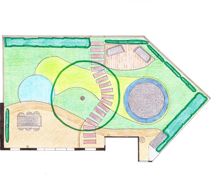 Plattegrond tuin amazing tuin tekenen programma gratis for Tuin tekenen app
