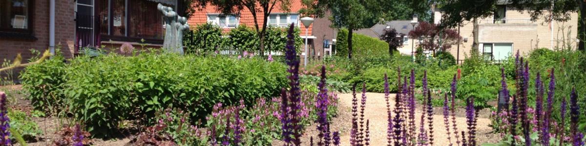 Tuinontwerpen zorginstellingen - Belevingstuinen, beweegtuinen, terreinbeheer
