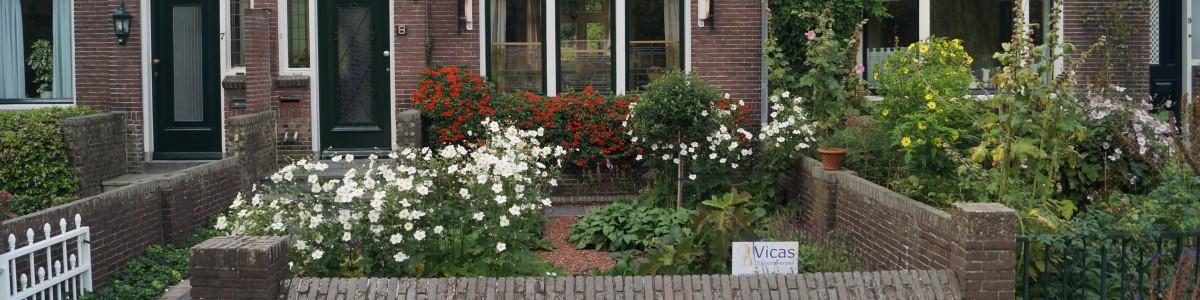 Woerden Utrecht ontwerp klassieke voortuin