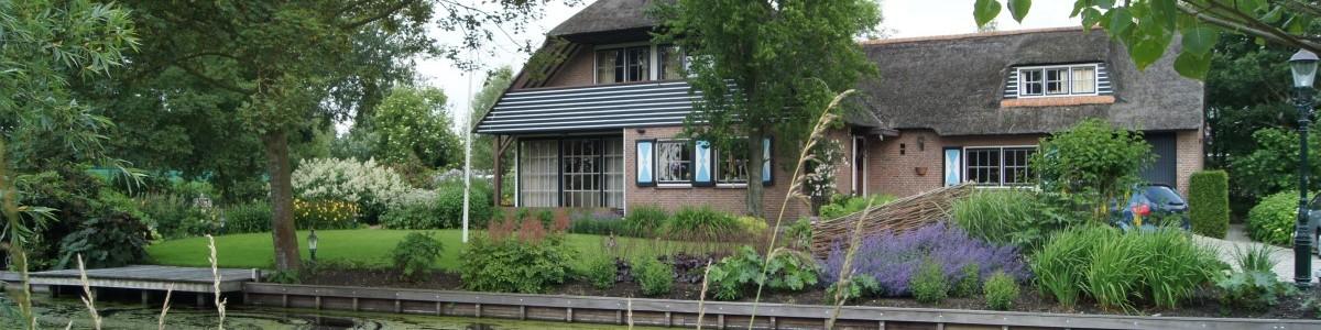 nieuwe beplanting bij villatuin Waarder Utrecht