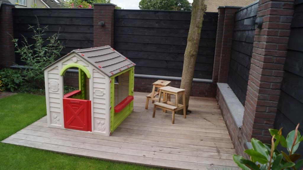 kindvriendelijke tuin tuinontwerp gezin