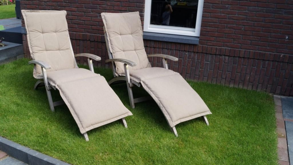 ligstoelen tuin - tuinontwerp tuinarchitect tuinontwerper regio Utrecht