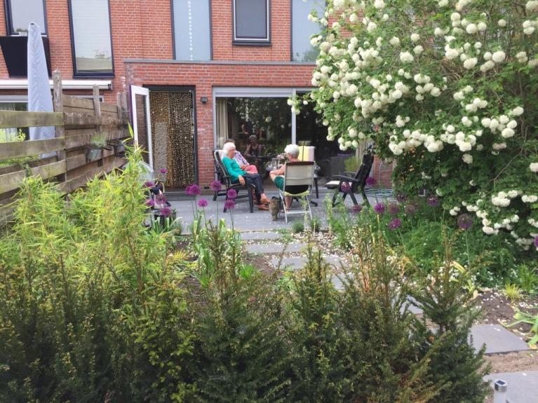 Diepe-tuin-met-tuinkamer-en-veranda-tuinarchitect-Woerden-Montfoort-Utrecht