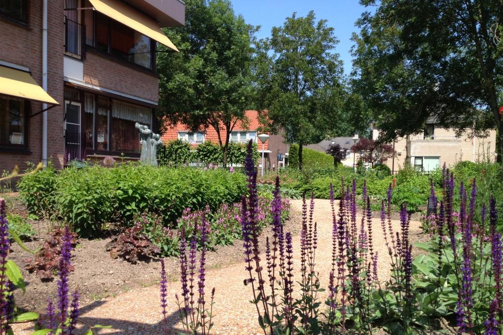 belevingstuin IJsselstein kleurige borders