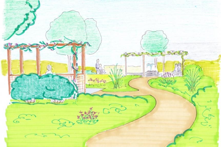 belevingstuin psychogeriatrisch verpleeghuis IJsselstein tuinontwerp