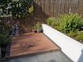 moderne tuin - vlonderterras