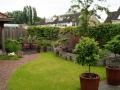 tuinontwerp romantische tuin met buitenkamer