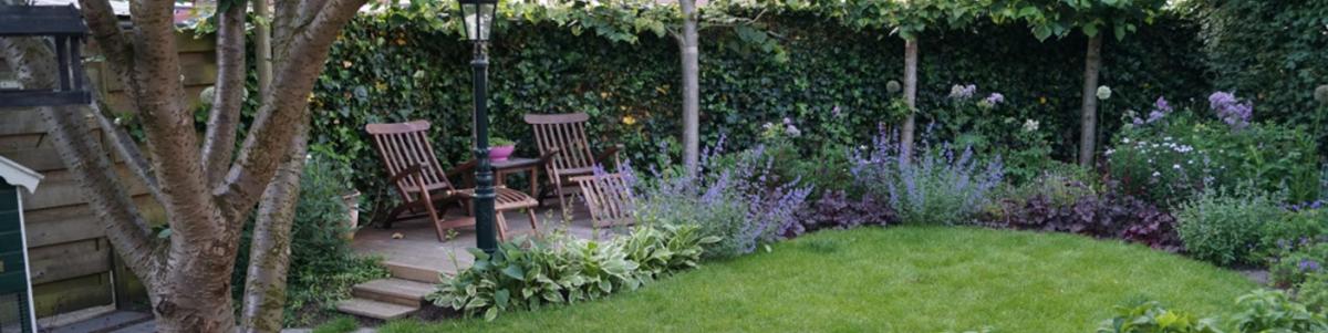 romantische tuin Woerden Utrecht