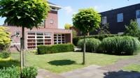 tuinontwerp kindvriendelijke tuin bij vrijstaand huis Woerden Utrecht
