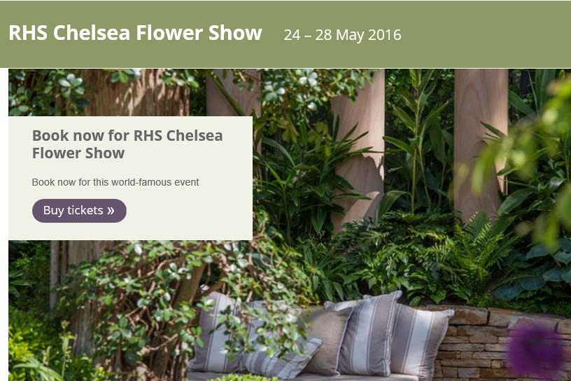 Vicas bezoekt Chelsea Flower Show 2016