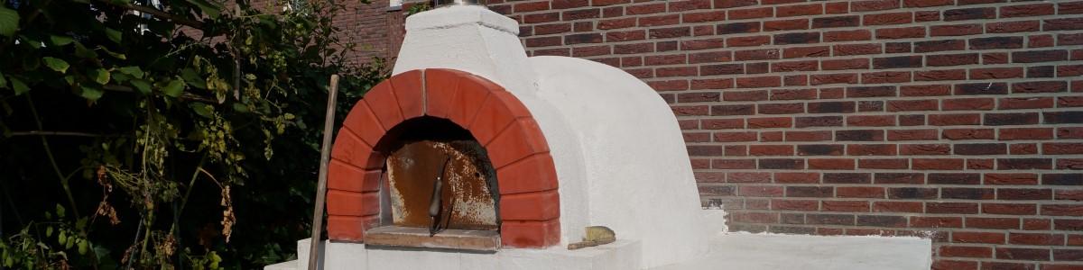 leeftuin met pizza-oven Woerden Utrecht